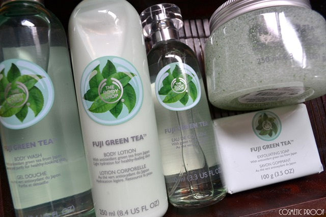 The Body Shop Fuji Green Tea Collection Review