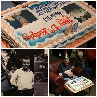 Grandpa's 90th