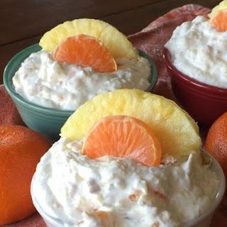 Easy Pineapple Orange Fluff.
