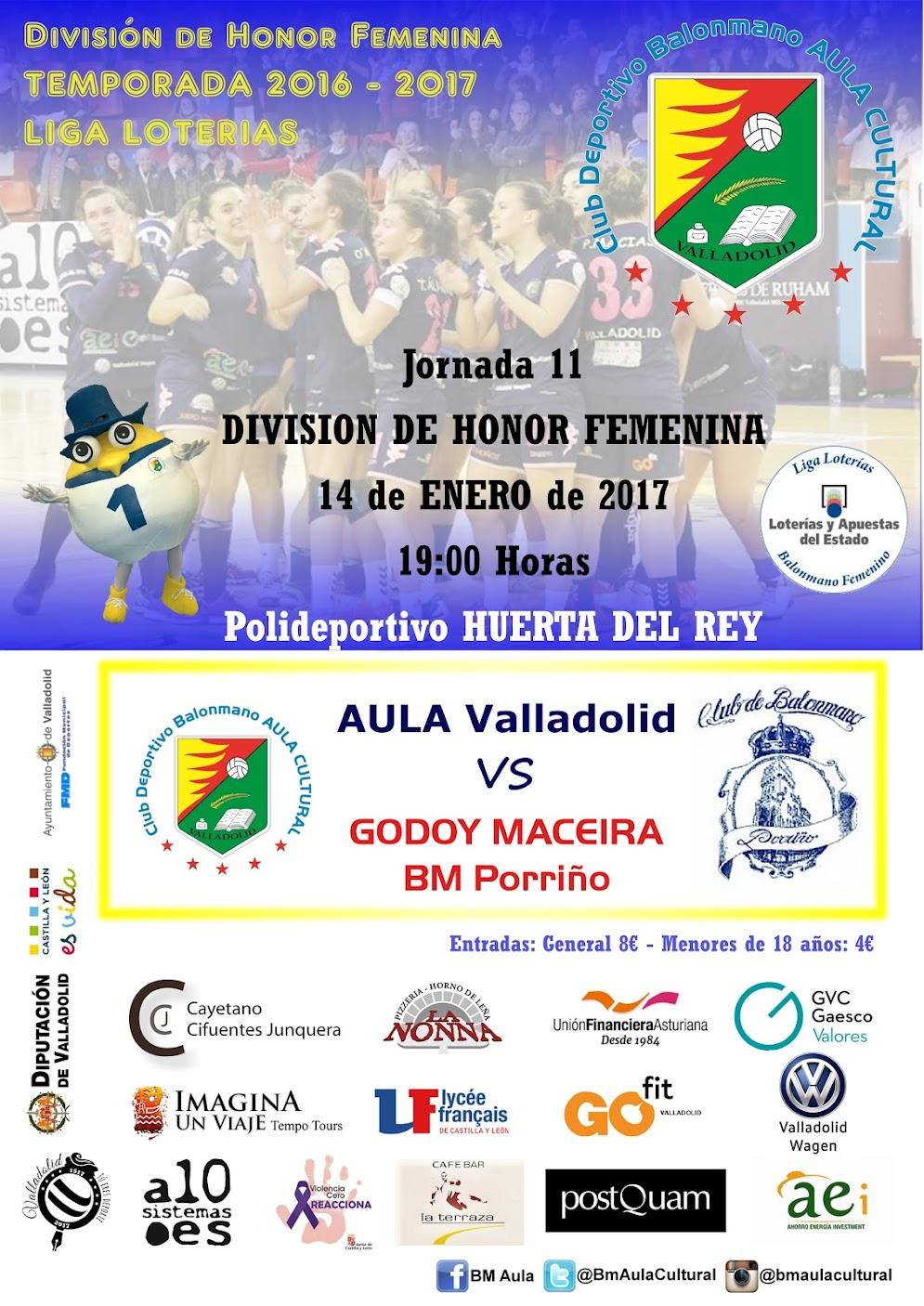 División de Honor Femenina: Aula - Porriño