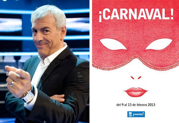 Inauguración del Carnaval de Madrid 2013. Pregón de Carlos Sobera