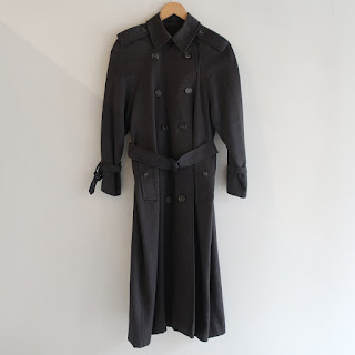 Burberrys Wool Trench Coat