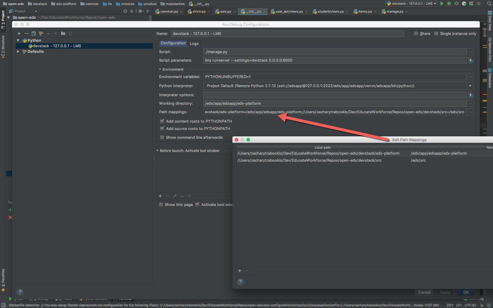 how to add modules to pycharm