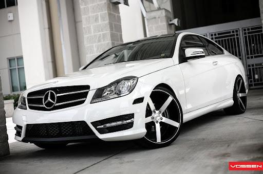 Car Fans Vossen Wheels Mercedes Benz C350 2013 Pictures