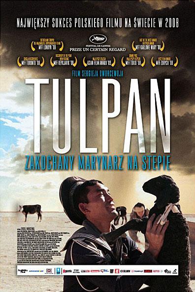 Polski plakat filmu 'Tulpan'