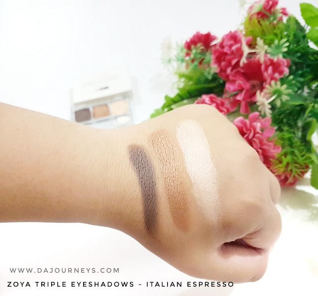 [Review] ZOYA Cosmetics Italian Espresso