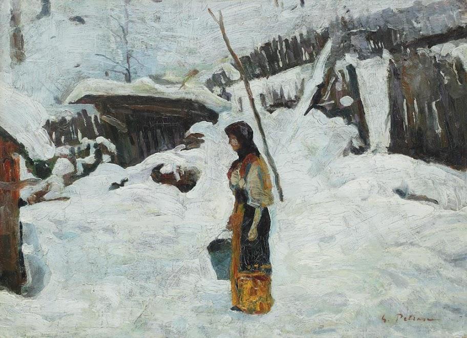 Gheorghe Petrașcu - Iarnă grea