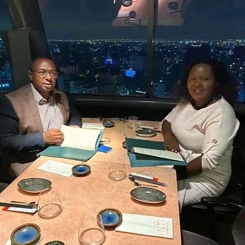 Sarah Kabu of Bonfire adventures and her husband Simon Kabu