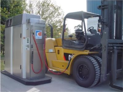 Stacja CNG Aspro SCA 50 - przykładowe zastosowanie