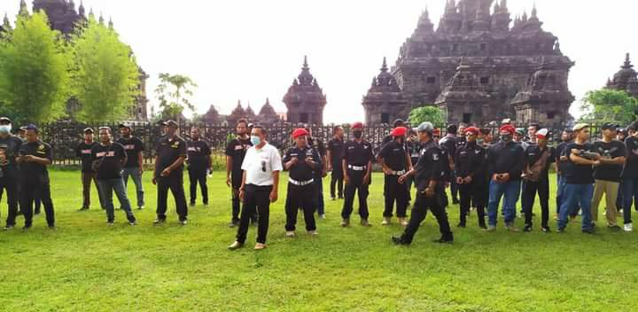Brigadir Joxzin Klaten Deklarasi Siap Menangkan Pasangan Cabup No 1 Sri Mulyani - Yoga Hardoyo