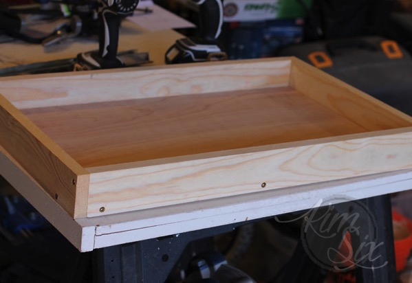 Building a simple wooden tray