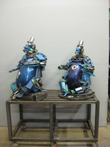 travis pond metal heykeller