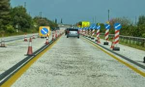 Κυκλοφοριακές ρυθμίσεις στην Αθηνών – Πατρών
