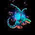 Dragón Fantasía Galaxia   Galaxy Fae Dragon