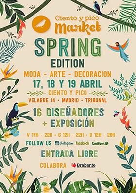 Vuelve Ciento y pico Market este fin de semana, edición Primavera 2015