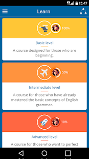 Learn English for free!- screenshot thumbnail