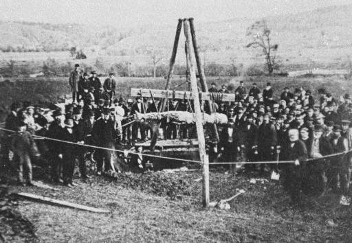 The Cardiff Giant, October 1869