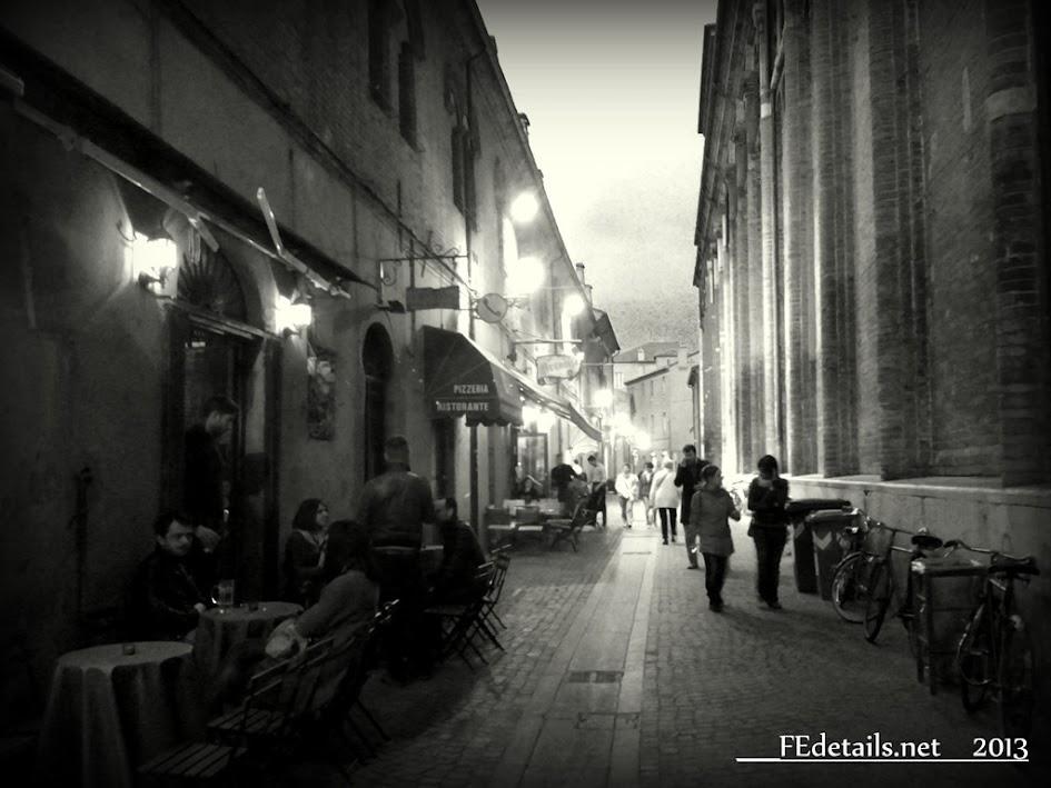 Via Adelardi, Ferrara, Italy