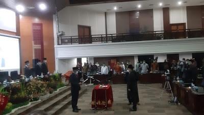PAW Syahrul Furqon, Daswanto Dilantik Sebagai Anggota DPRD Sumbar.