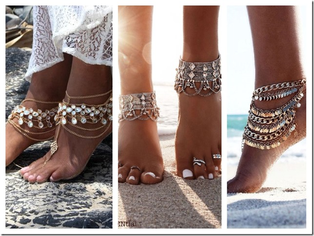 anklet boho accessories
