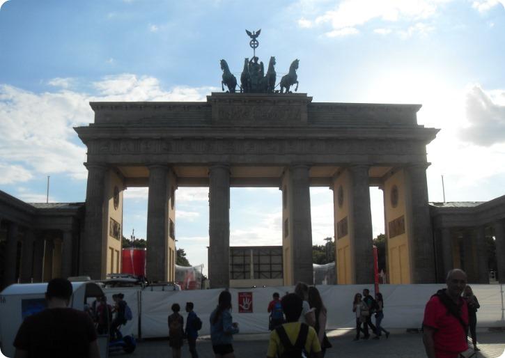 Brandenburger Tor - Berlin juli 2016