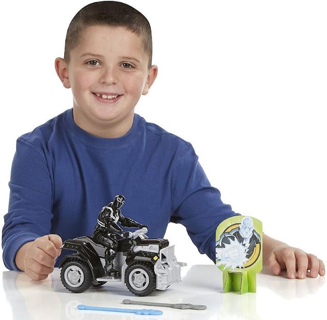 Bộ mô hình Agent Venom cùng Siêu xe  ATV bổ ích và lý thú