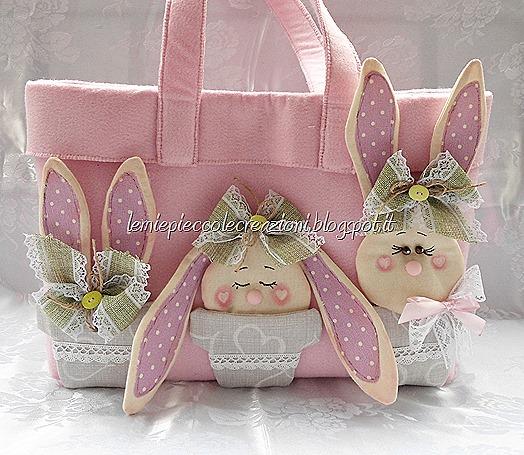 borsa conigli