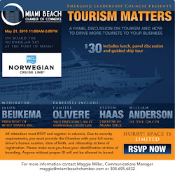 ELC Presents Tourism Matters on the Norwegian Sky