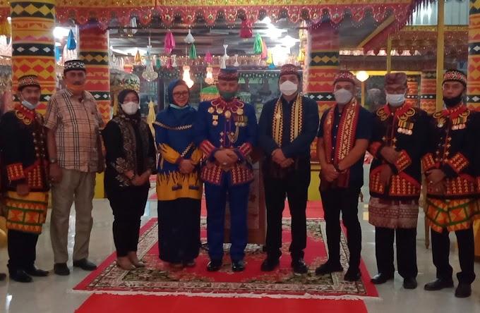 Ketua DPW Nasdem Lampung Silaturahmi ke Mantan Kapolda Lampung