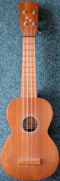 1950 japan luna 350 soprano ukulele