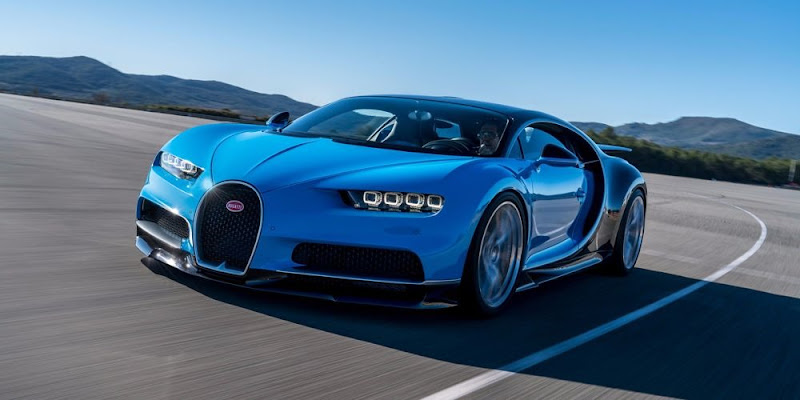 Bugatti Chiron Most Luxurious car in the world
