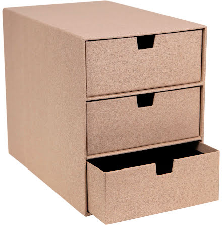 3-lådsbyrå Ingrid pale oak