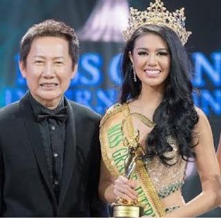 biodata ariska putri pertiwi miss grand internasional 2016 asal Indonesia