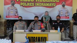 Polres Indramayu Tangkap Bandar Obat Keras