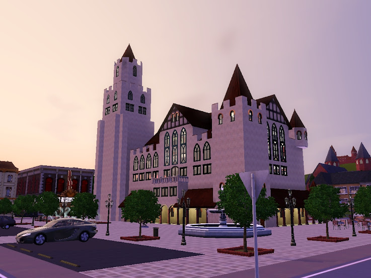 new city hall sims3