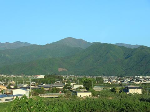 名鉄バス「名古屋~新潟線」 2607 車窓 その4