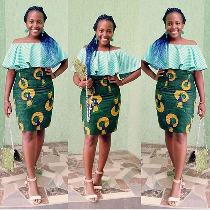 beatiful knee length ankara styles (5)