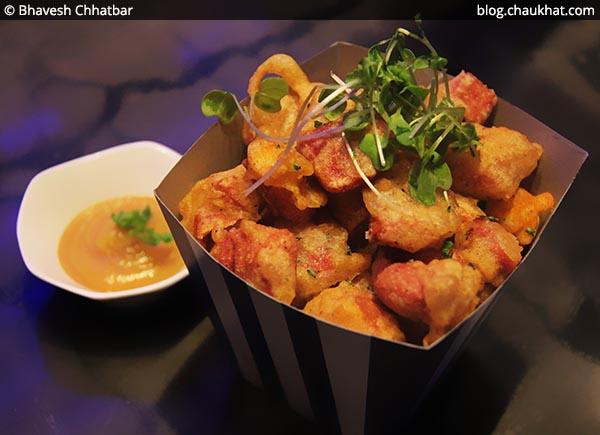 Pork Cuchfritos Popcorn, BarBar, Phoenix Market City, Viman Nagar, Pune