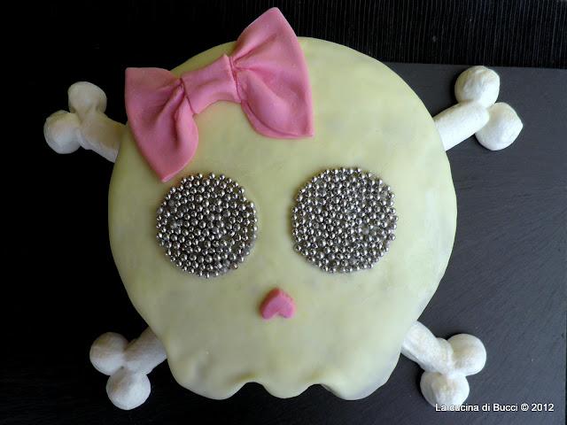 Torta teschietto