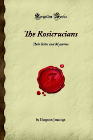 Cover of Hargrave Jennings's Book The Rosicrucians Their Rites And Mysteries