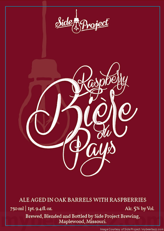 Side Project - The Scribe, Raspberry Biere du Pays & Copains Boulevard Collaboration