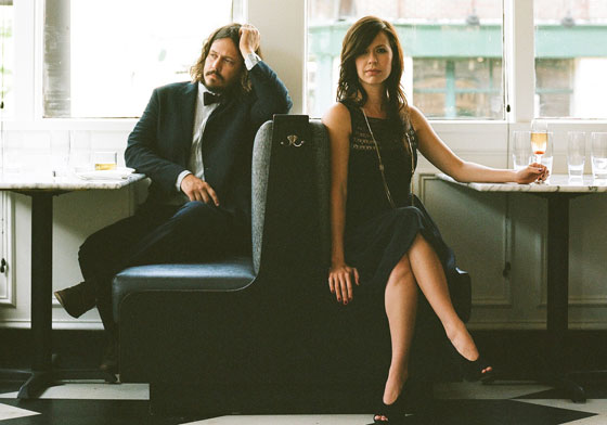 The Civil Wars - promo shot for album Barton Hollow