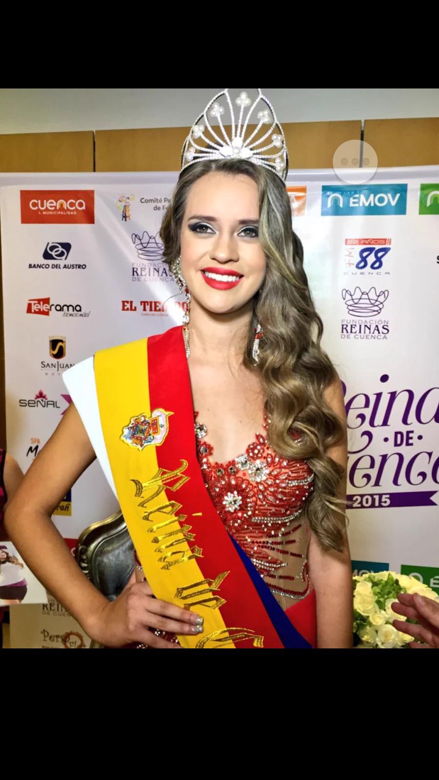 nueva reina de cuenca 2015