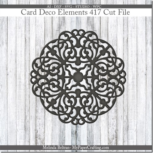 Card Deco Element 417-650