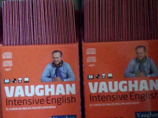 Vendo curso completo de Inglés Vaughan