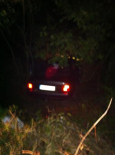 Vehículo robado utilizado en el asalto