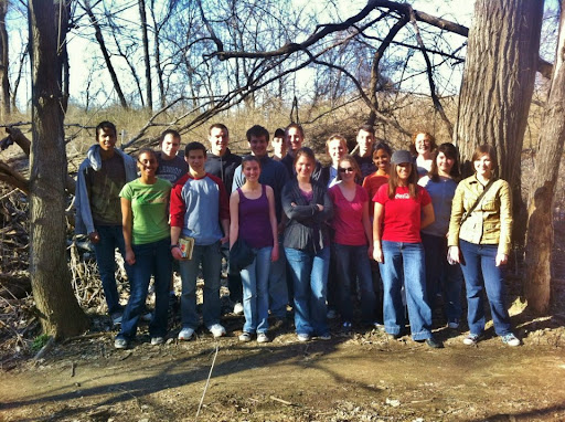 The official LifeFocus 2012 photo. Team members came and went throughout the week -- an eager and engaged group of young people!