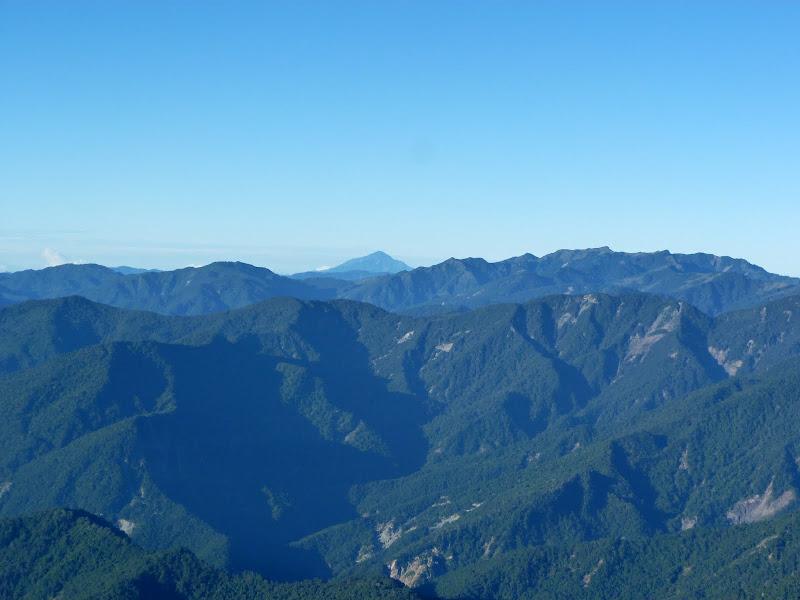 Des montagnes a perte de vue