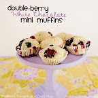 Double Berry White Chocolate Muffins