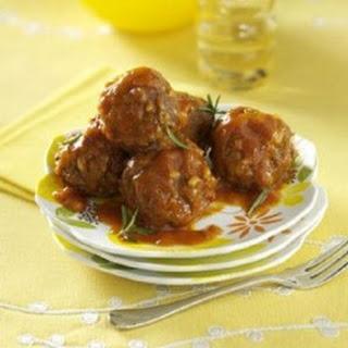 Porcupine Meatballs.